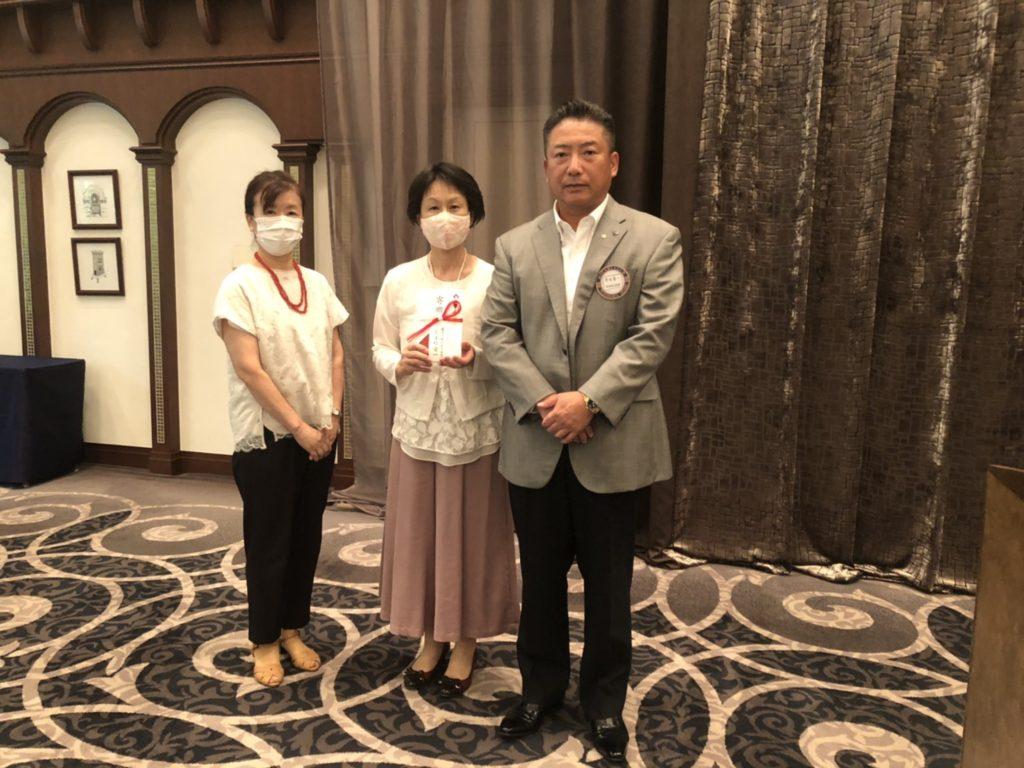 2020.9.16大阪YWCA点字小ども図書室への寄贈